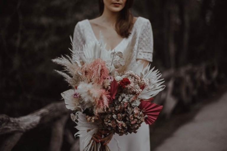 Photographe mariage rennes Bouquet de Fleurs Caroline - Le bazar à Petales